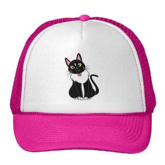 Emmy The Tuxedo Cat Cap