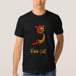 Emo Cat Tee Shirt