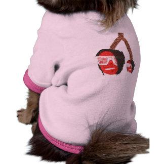 Emo Cherries Dog Top Ringer Dog Shirt