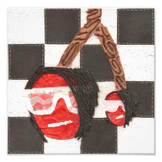 Emo Cherries Poster Art Photo