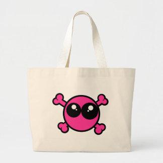 Emo Crossbones Canvas Bags