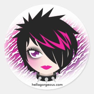 Emo Cutie Sticker