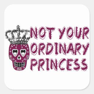 Emo /dark/tough/Princess Square Stickers