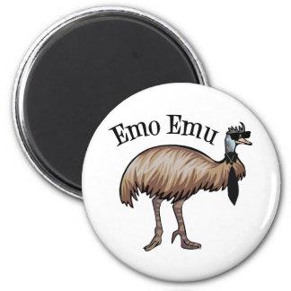 Emo Emu 6 Cm Round Magnet