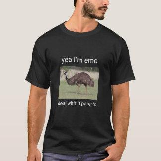 Emo Emu Tee Shirt