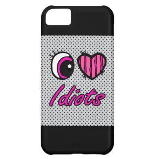 Emo Eye Heart I Love Idiots iPhone 5C Case