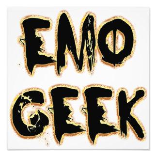 Emo Geek Black Photograph