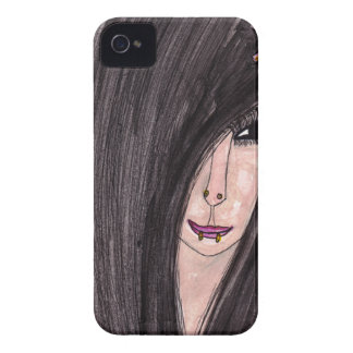 Emo Girl iPhone 4 Covers