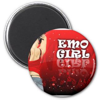 Emo Girl Magnets