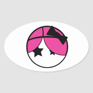 Emo Girl Sticker