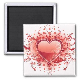 Emo Heart Design Magnet Magnets