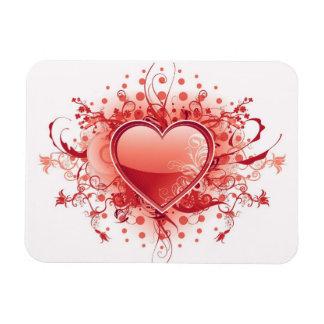 Emo Heart Design Premium Magnet Rectangle Magnets