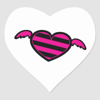 Emo Heart Stickers