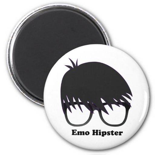 Emo Hipster Refrigerator Magnets