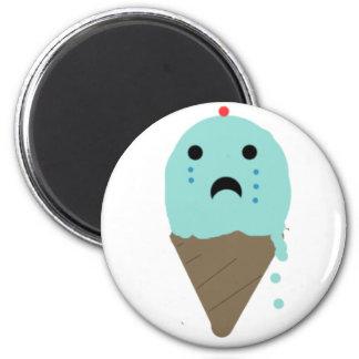 Emo Ice Cream Fridge Magnet