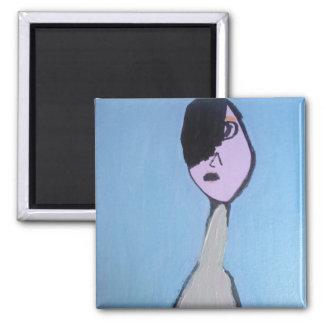 Emo Kid Art Magnet