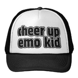 EMO KID MESH HAT
