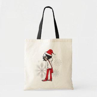Emo Kid Christmas Gifts Canvas Bag
