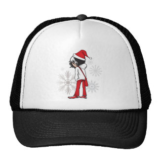 Emo Kid Christmas Gifts Trucker Hat