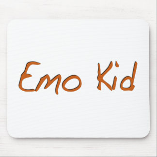 Emo Kid Mouse Pads