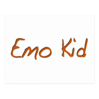 Emo Kid Post Cards