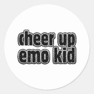 EMO KID STICKER
