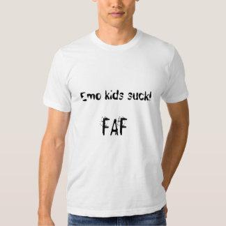 Emo kids suck! tshirt