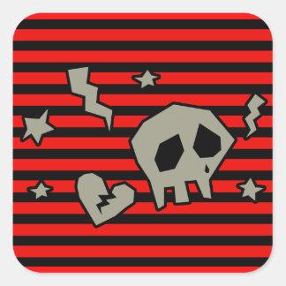 Emo-licious Square Sticker