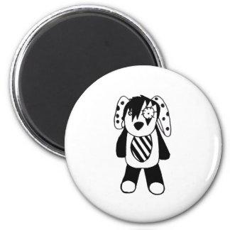 Emo-pet 6 Cm Round Magnet