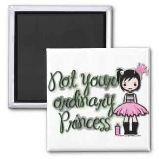 Emo Princess Square Magnet