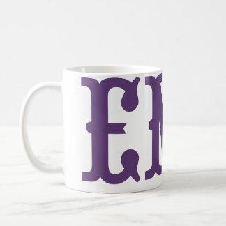 Emo Purple Vintage Hiking Duck Coffee Mug