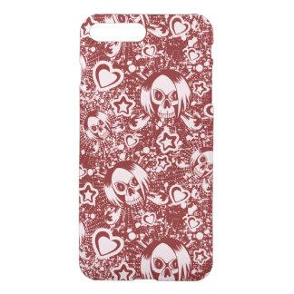 emo skull background iPhone 8 plus/7 plus case