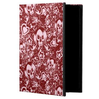 emo skull background powis iPad air 2 case