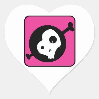 Emo Skull Stickers