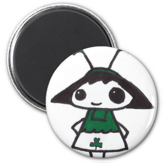 Emo St. Patty 6 Cm Round Magnet