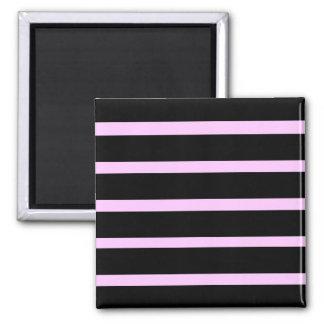 Emo Stripes Square Magnet