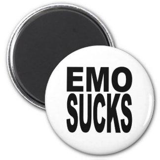 Emo Sucks 6 Cm Round Magnet