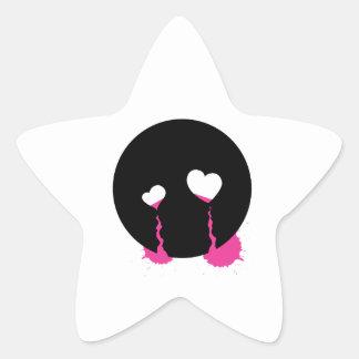 Emo Tears Sticker