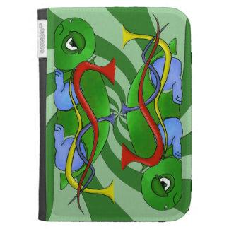 Emo Tortoise Caseable Kindle Folio Case