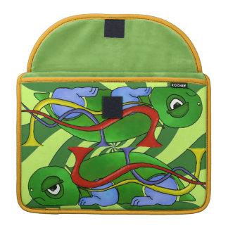 Emo Tortoise Macbook Pro 13 inch Rickshaw Sleeve MacBook Pro Sleeve