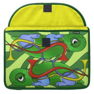 Emo Tortoise Macbook Pro 15 inch Rickshaw Sleeve Sleeves For MacBooks