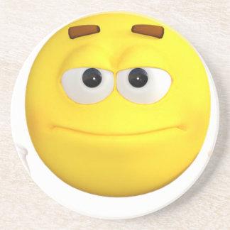 emoji-1584282_640-1600x1065 sandstone coaster