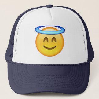 Emoji - Angel Trucker Hat