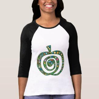 Emoji-art spiral apple symbol of being & becoming T-Shirt