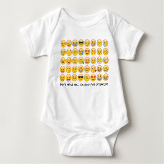 Emoji Baby Bodysuit Creeper