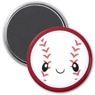 Emoji Baseball 7.5 Cm Round Magnet