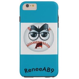 Emoji Baseball Umpire Curve Ball by ReneeAB9 Tough iPhone 6 Plus Case