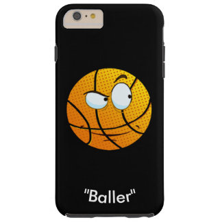 "Emoji Basketball ""Baller Iphone"" by ReneeAB9 Tough iPhone 6 Plus Case"