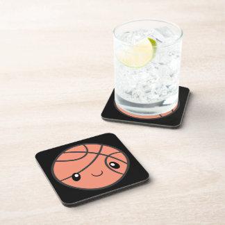 Emoji Basketball Beverage Coasters