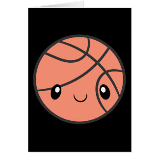 Emoji Basketball Card